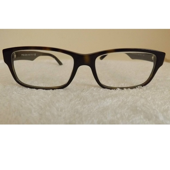 df1e1f00bc PRADA VPR 16M 2AU 101 HAVANA BROWN Eyeglasses